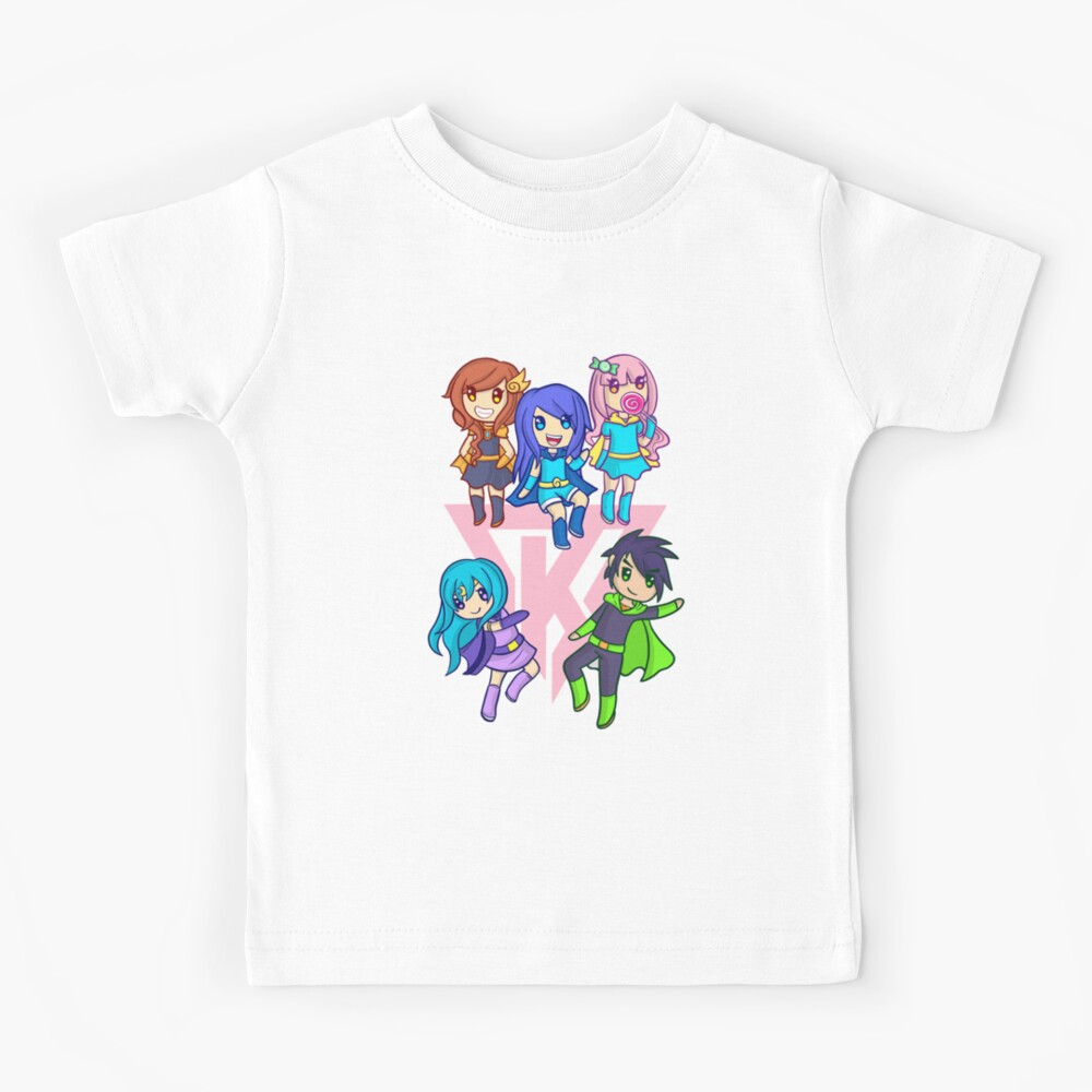 Funneh and the Krew Pink Kids T-Shirt