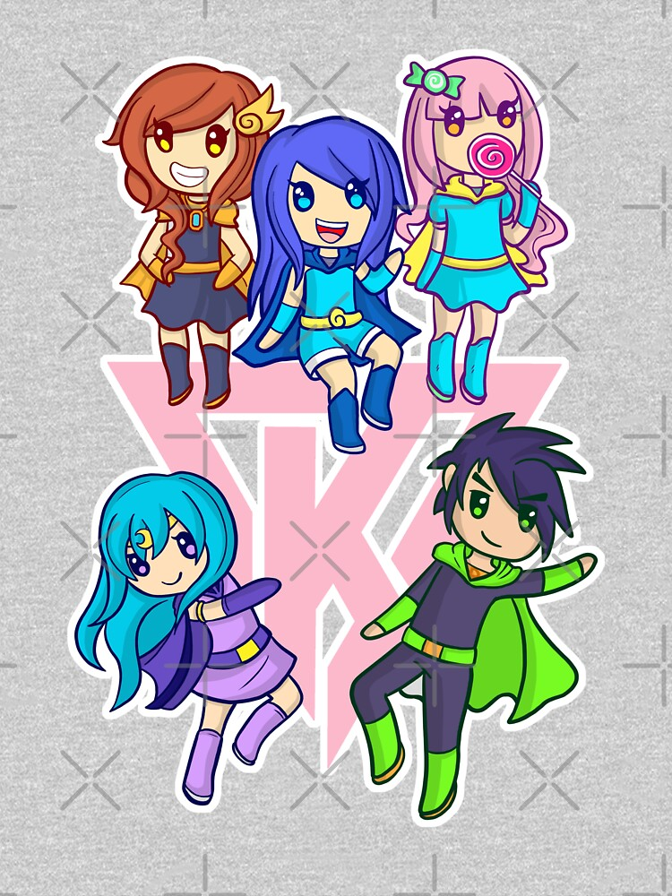 Funneh and the Krew Pink by TheBeatlesArt