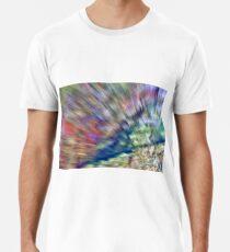 A blurred Rockface Premium T-Shirt
