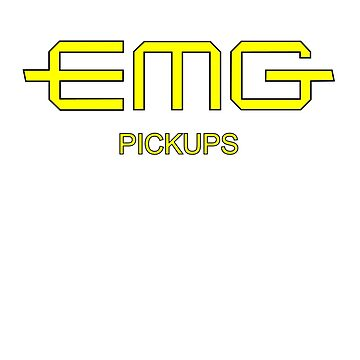EMG Pickups  Yellow by matanga