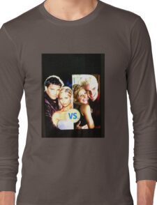 Buffy N Angel or Spike Long Sleeve T-Shirt