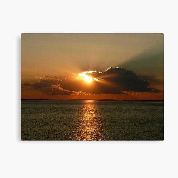 Derby Sunset Storm -Western Australia Canvas Print