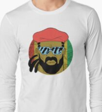 """Major Lazer"" - Circle Graphic  Long Sleeve T-Shirt"