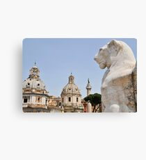 View from the Victor Emmanuel Monument, Rome, Italy Canvas Print