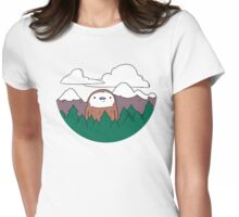 Forest Bro Womens Fitted T-Shirt