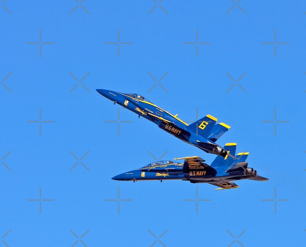 Blue Angles #6 & #7 by Buckwhite