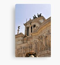 Victor Emmanuel Monument, Rome, Italy Canvas Print