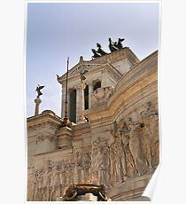 Victor Emmanuel Monument, Rome, Italy Poster