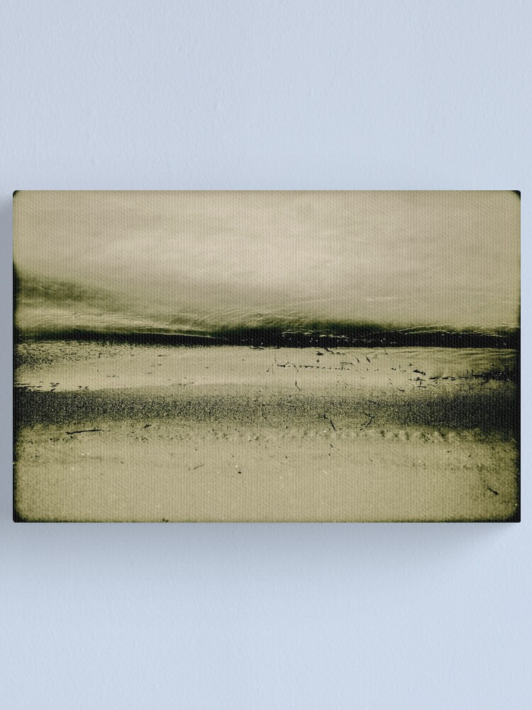 Alternate view of Sand and Water Canvas Print