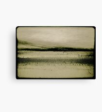 Sand and Water Canvas Print