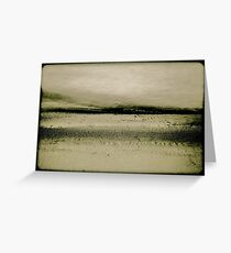 Sand and Water Greeting Card