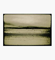 Sand and Water Photographic Print