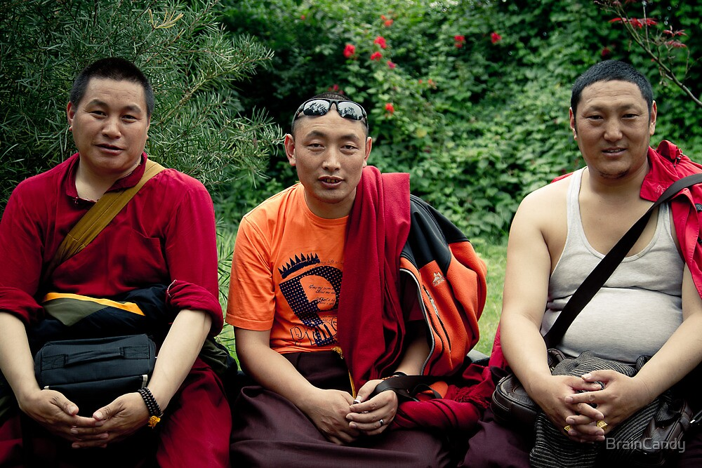 tibetan monks prefer nikon by BrainCandy
