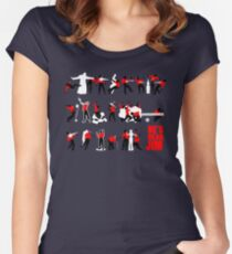 He's dead, Jim Women's Fitted Scoop T-Shirt