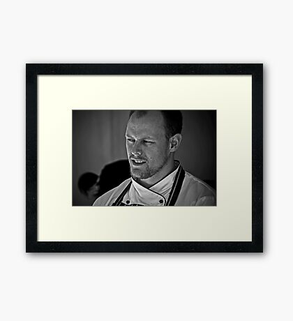 The Chef Framed Print
