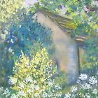 Cow Parsley and Broom by Susan Scott