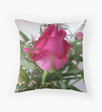 Rosebud - A beauty to unfold-Oct.2010, Spring Throw Pillow