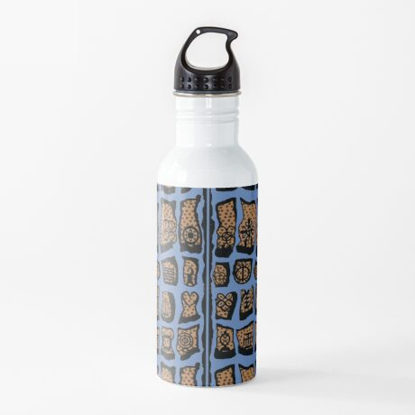 FBeauty Virgo Blues Water Bottle