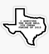 Blue Bell Ice Cream Famine BlueBell Ben and Jerrys Texas Shirt Sticker