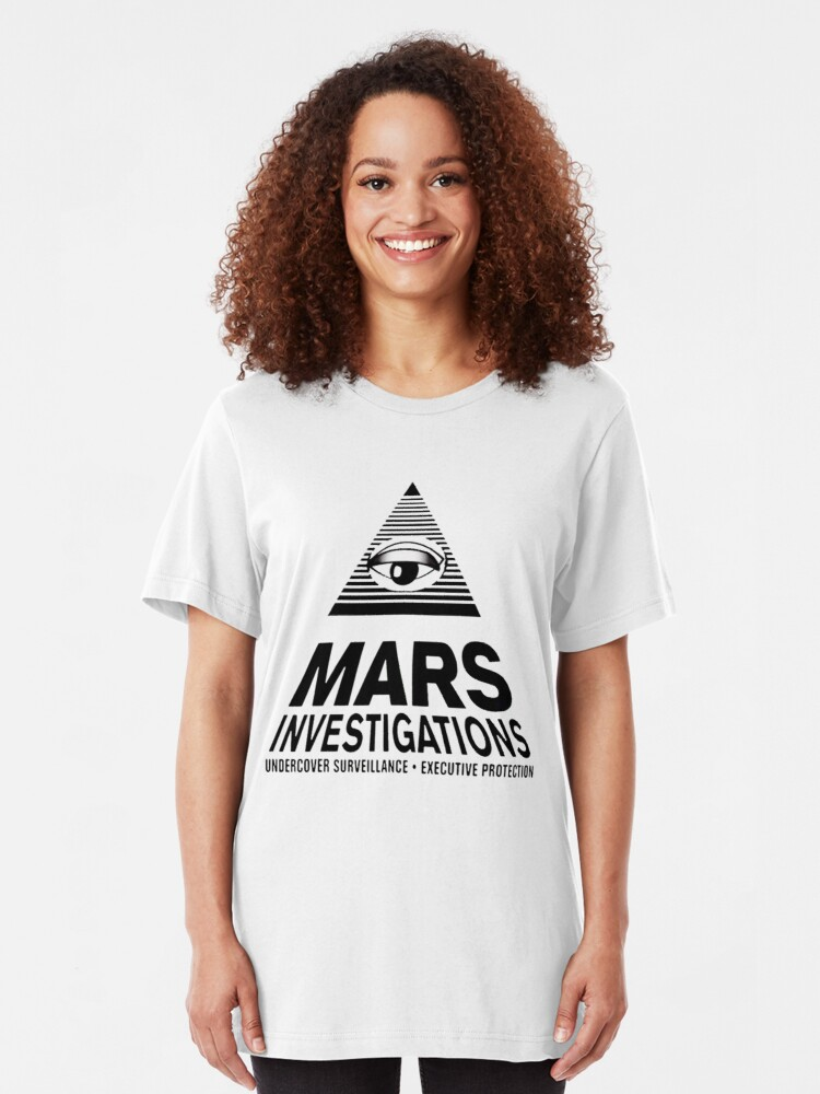 Alternative Ansicht von Marsuntersuchungen - Veronica Mars Slim Fit T-Shirt