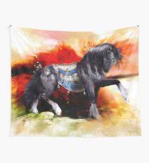 Kachina Hopi Native American Spirit Horse Tapestry