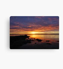 Sunrise / Australia.. Canvas Print