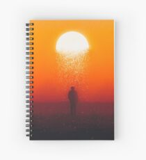 Moonfall Spiral Notebook