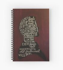Moriarty Was Real Spiral Notebook
