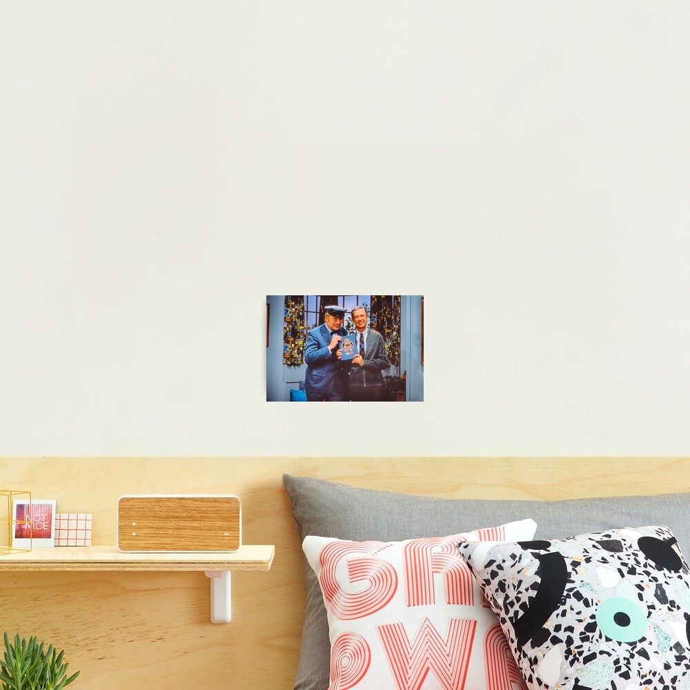 Mister McFeely and Mr. Rogers Photographic Print