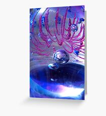 Blubbles within Greeting Card