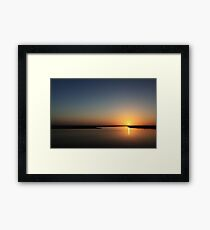 Sunset in the Pilbara Framed Print