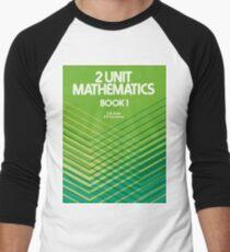 HSC Jones & Couchman 2 Unit Maths Men's Baseball ¾ T-Shirt