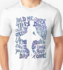 Tiny Dancer in Blue Unisex T-Shirt