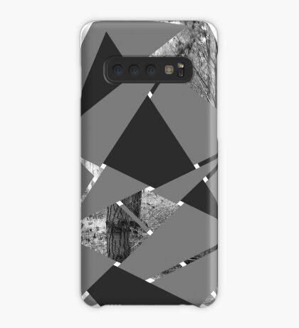 Gewebter Wald Hülle & Klebefolie für Samsung Galaxy