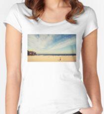 Tamarama Beach Women's Fitted Scoop T-Shirt