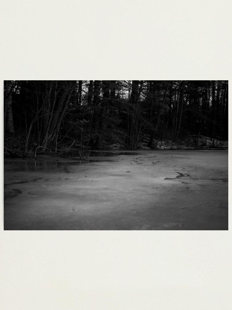 Alternate view of Iced Creaks #1 Photographic Print