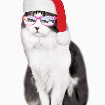Christmas Cat by coltrane