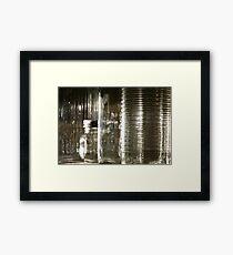 Glassware Framed Print