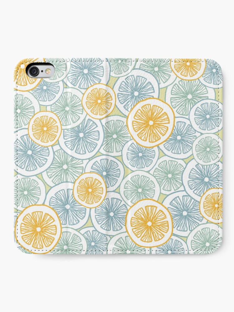 Alternate view of Citrus Medley iPhone Wallet