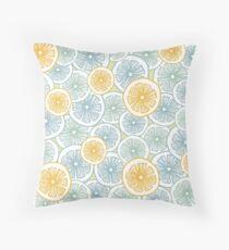 Citrus Medley Throw Pillow