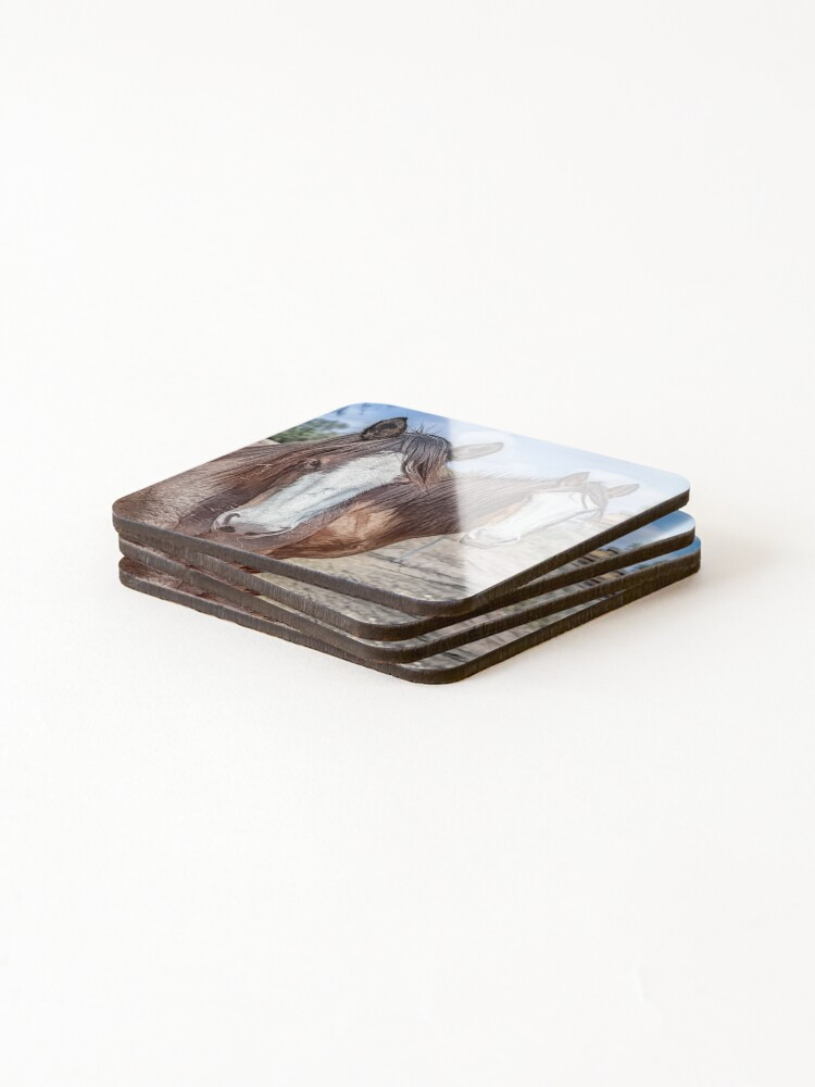 Alternate view of Resting Horse Coaster Coasters (Set of 4)