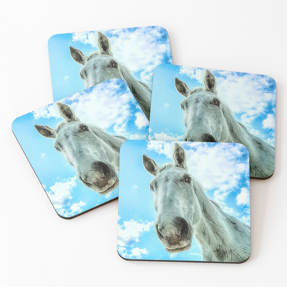 Checking In Coaster Coasters (Set of 4)