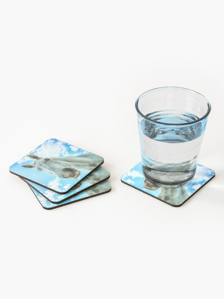 Alternate view of Checking In Coaster Coasters (Set of 4)