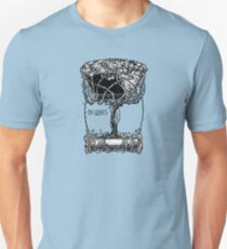 Cool Antique Bookplate Art Unisex T-Shirt