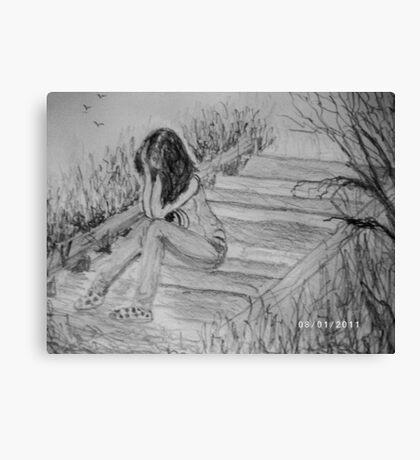 Dispair Canvas Print