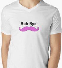 Buh bye! Mens V-Neck T-Shirt
