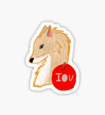 Foxy Moriarty Sticker