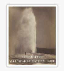 Old Faithful - Yellowstone National Park Sticker