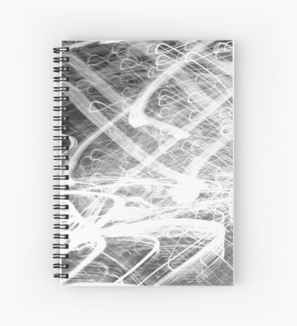 Amongst the Chaos Spiral Notebook