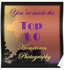 Top 10 Challenge Winner Banner Poster